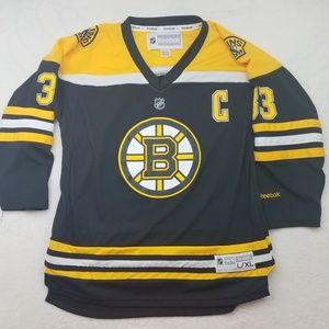 Boston Bruins Chara Reebok Jersey Large